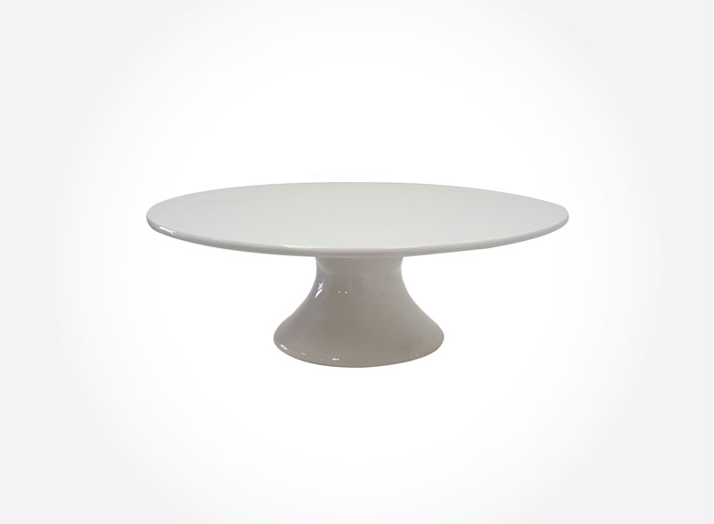 Cake Stand- Ceramic Plain