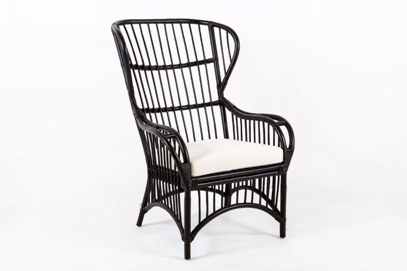 Fine Black High Back Cane Chair Inzonedesignstudio Interior Chair Design Inzonedesignstudiocom