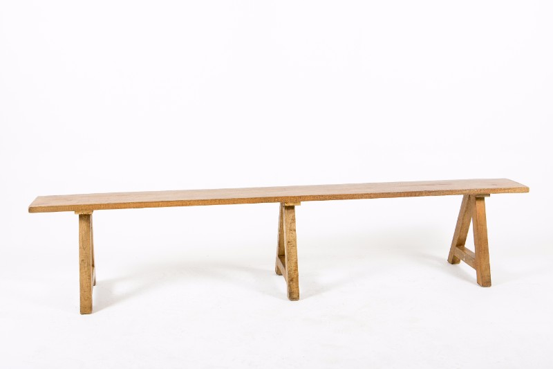 Long Wooden Bench Hire Society