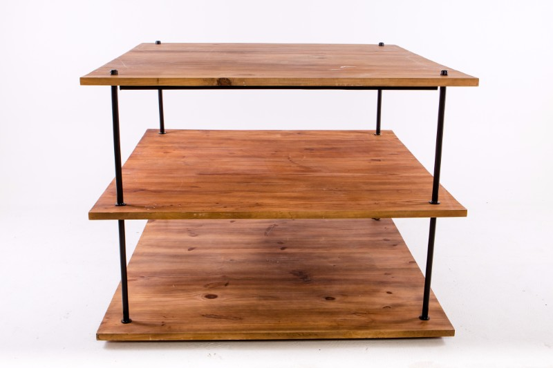 Wooden central back bar unit hire society for Wooden bar unit
