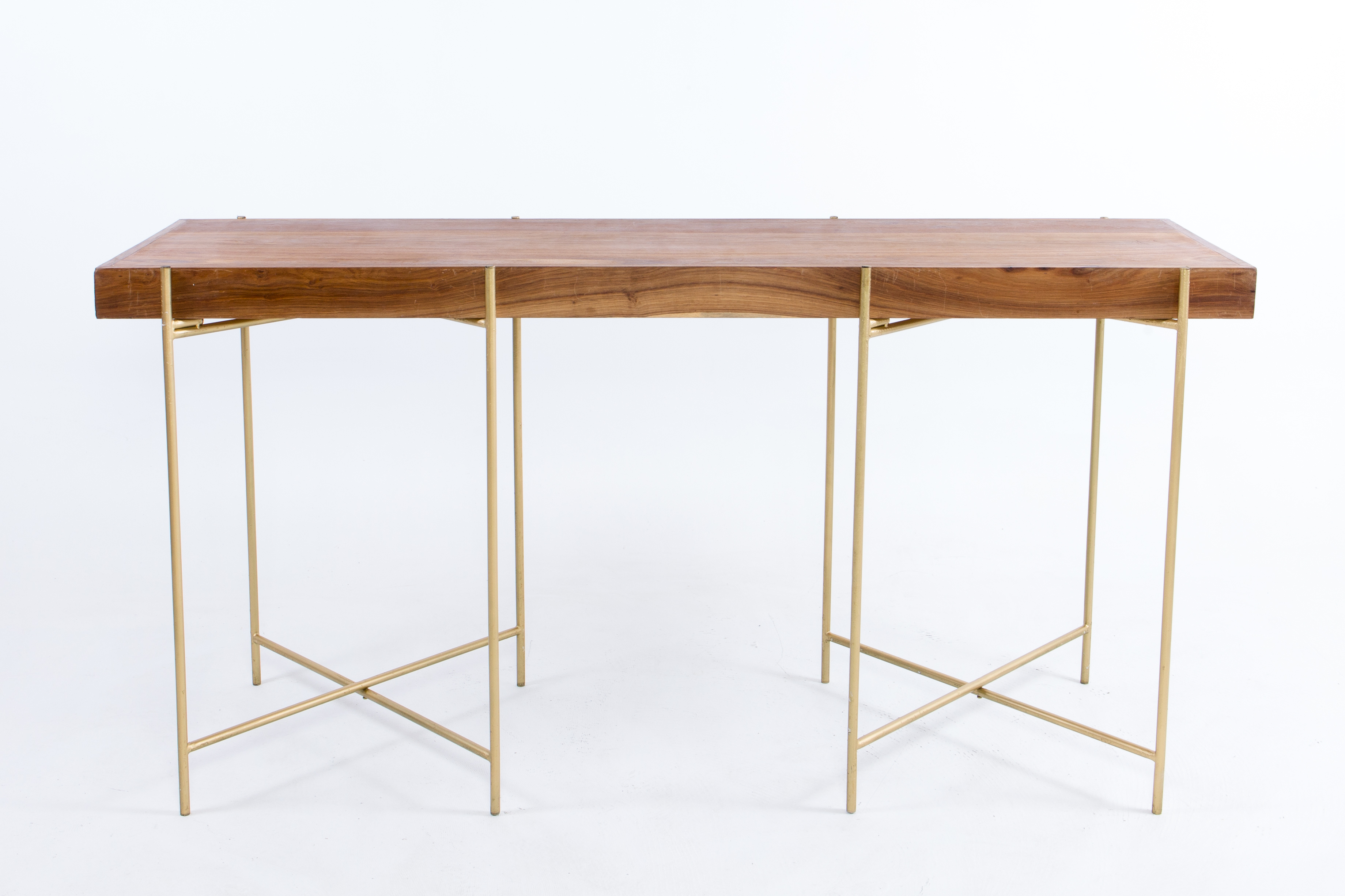 wooden rectangular cocktail table with gold black or white legs hire society. Black Bedroom Furniture Sets. Home Design Ideas