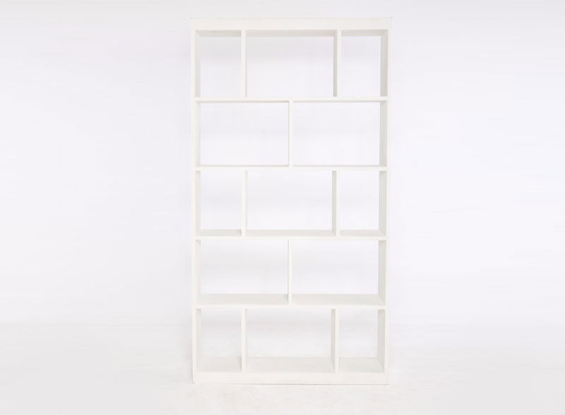 White Bookshelf (no back)