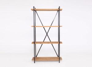 Wooden Bookshelf Back Bar - Tall