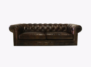 Brown Chesterfield Couch