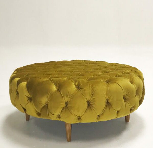 Hire-Society-Mustard-Velvet-Round-1m-Deep-Button-Ottoman-800x580